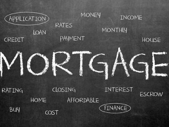 Mortgage Terms Chalkboard