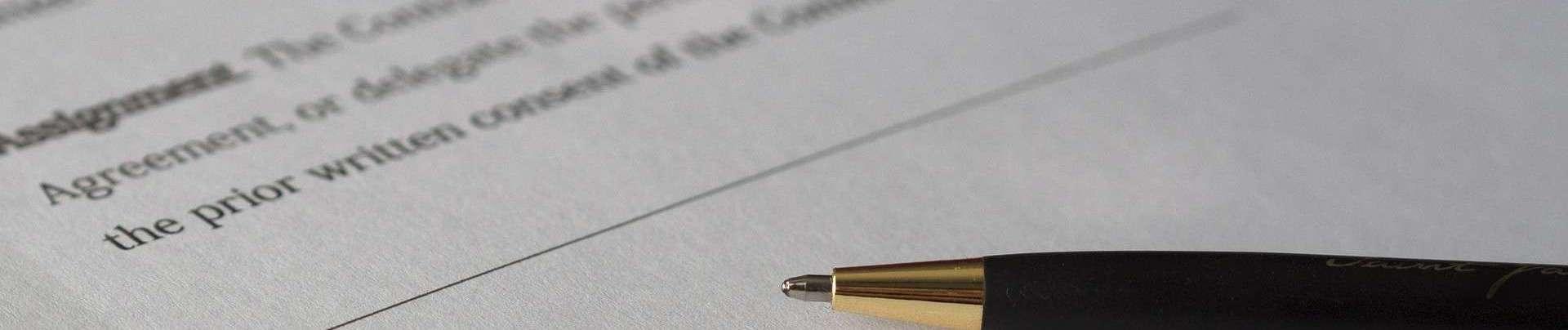 Mortgage Application Signing