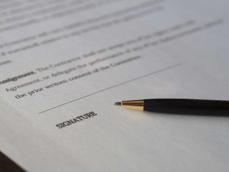 Mortgage Application Signing