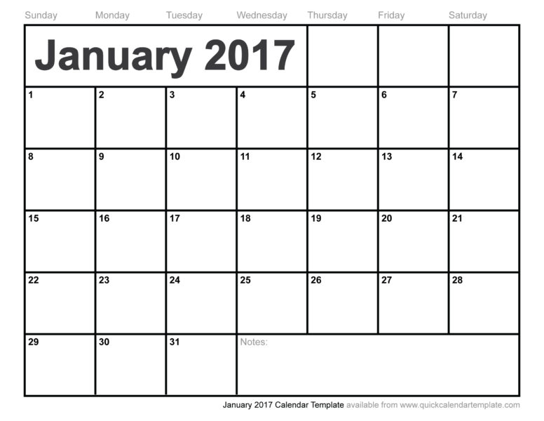 January 2017 Economic Update